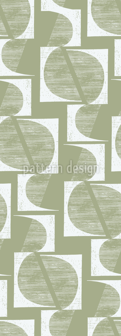 Bauhaus Geometry Seamless Pattern