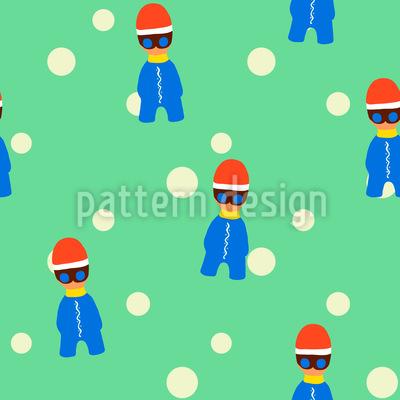 Coole Winter Kids Designmuster