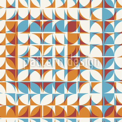 Tiled Geometry Repeating Pattern
