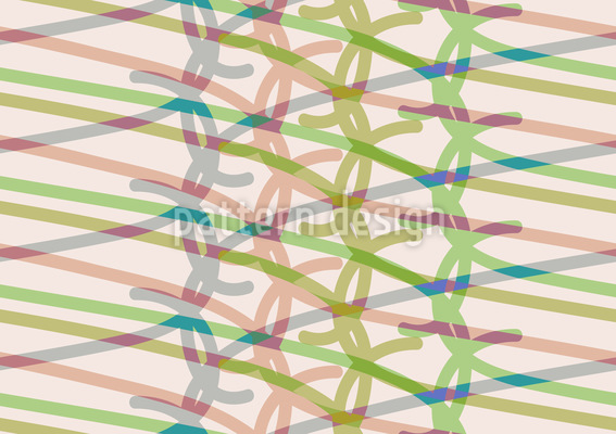 Rubber Band Bracelets Vector Pattern