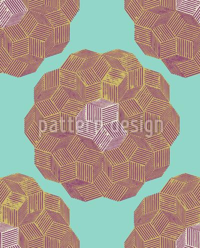 Quartz Floral Vector Design