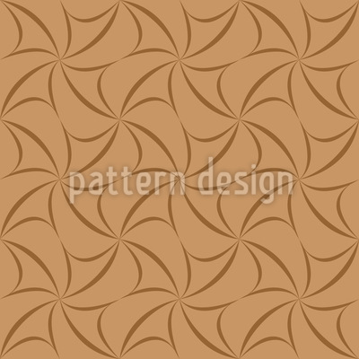 Caramel Crosses Repeating Pattern