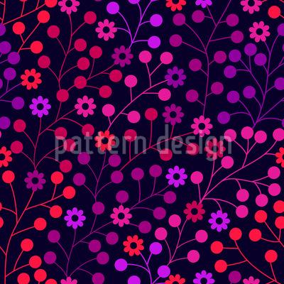 Nachts Im Bärenwald Muster Design