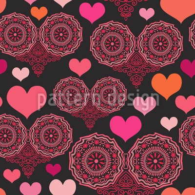 A Heart For Folklore Pattern Design