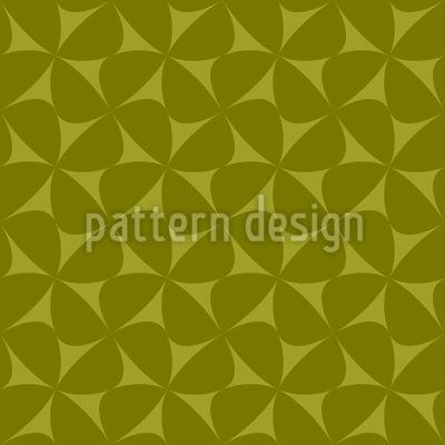 Florale Windmühlen Vektor Muster