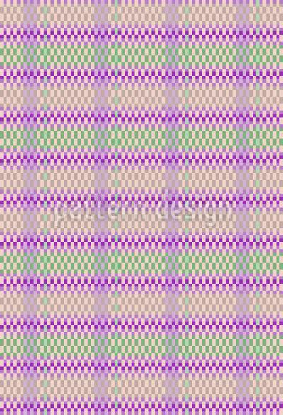 Körbchen Geflecht Muster Design