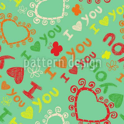 The First Love Pattern Design
