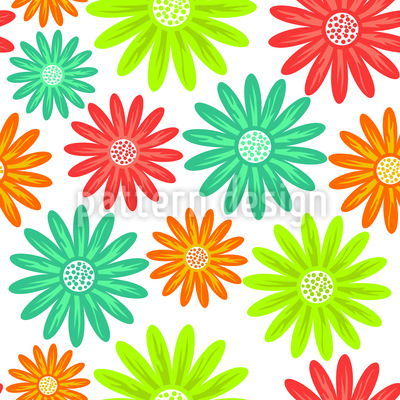 Delighted Marguerites Vector Design