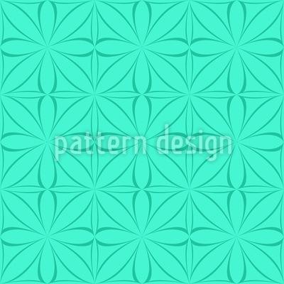 Aqua Gothic Repeating Pattern