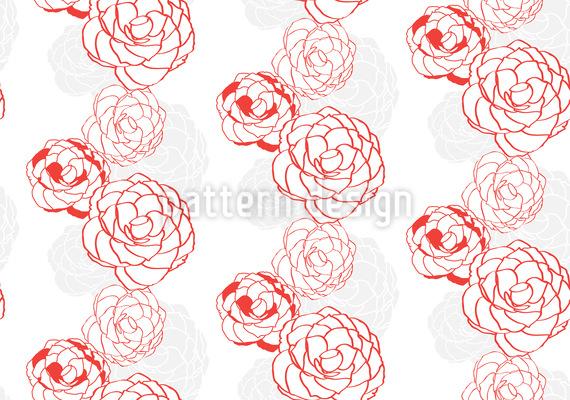 Camellia Vector Pattern