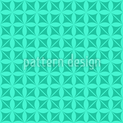 Karibische Blumen Gotik Muster Design
