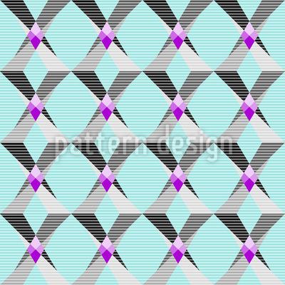 Geometrische Fantasie Musterdesign