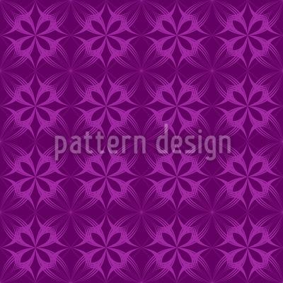 Gothic Flower Bloom Pattern Design