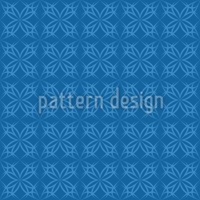 Blausternchen Gotik Designmuster