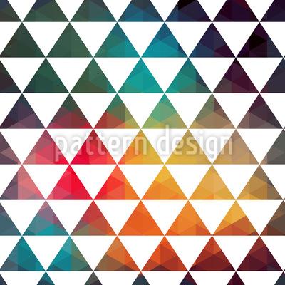 Radioaktive Farbgeometrie Nahtloses Muster