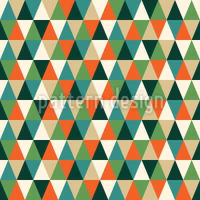 Die Pfade Der Dreiecke Nahtloses Vektor Muster