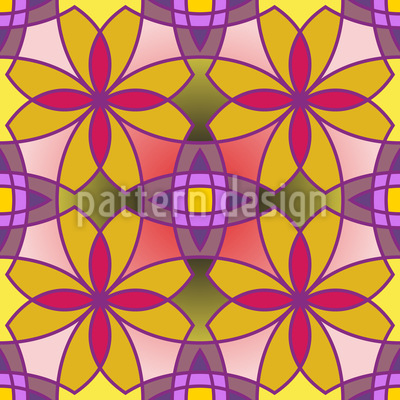Metro Floral Color Muster Design