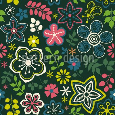 Floral Fantasy Mix Design Pattern