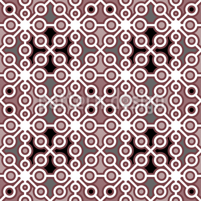 Crossworks Seamless Pattern
