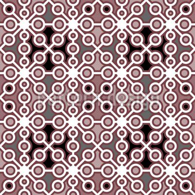 Kreuzwerk Nahtloses Muster