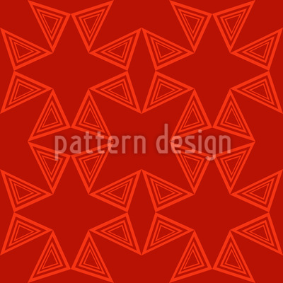 Triangle Connection Vector Pattern