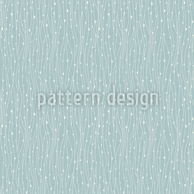 Plankton And Seaweed Seamless Vector Pattern