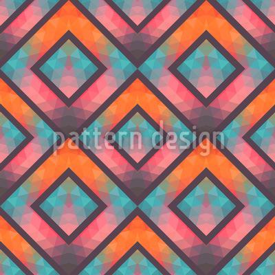 Crystal Mosaic Pattern Design