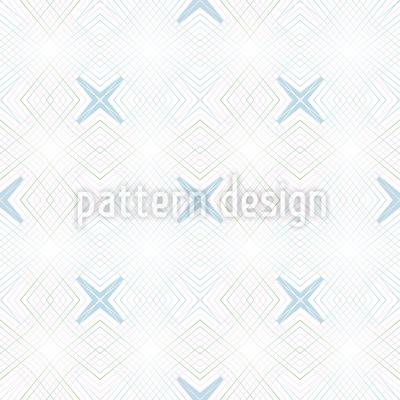 Kreuz Koordinaten Nahtloses Vektor Muster