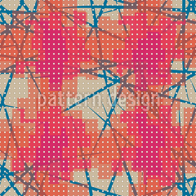 Pixelated Stains Pattern Design