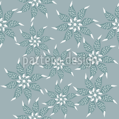 Blumen Im Winterkleid Vektor Design