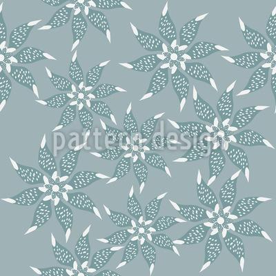 Flowers In The Winter Dress Vector Design
