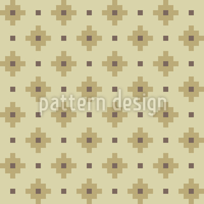 Square Cross Design Pattern