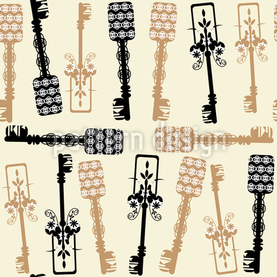 Key Collection Vector Ornament