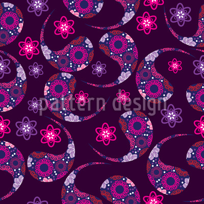 Indian Paisley Dream Pattern Design