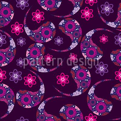 Indischer Paisley Traum Muster Design