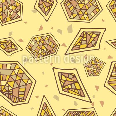 Abstraktes Mosaik Vektor Design