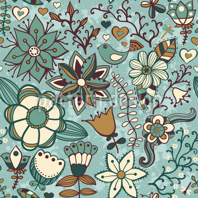 Bohemian Winter Dreams Design Pattern