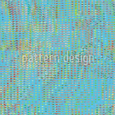 Kühle Pixel Vision Vektor Ornament