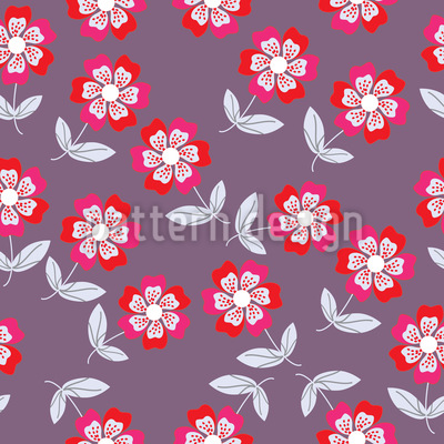 Flower Kate Repeat Pattern
