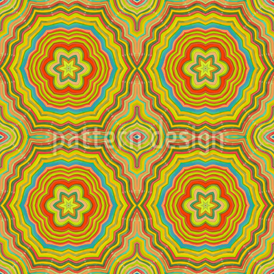 Autumn Kaleidoscope Vector Design