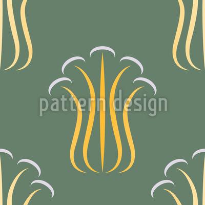 Classic Mushrooms Repeating Pattern