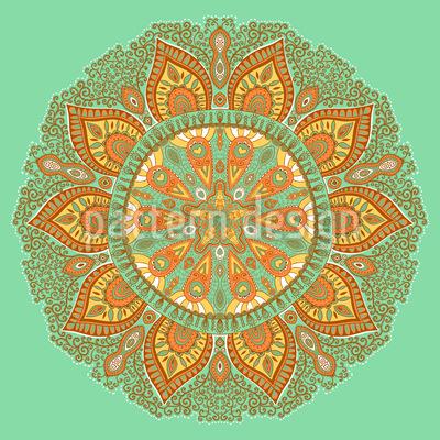 Herbst Mandala Muster Design