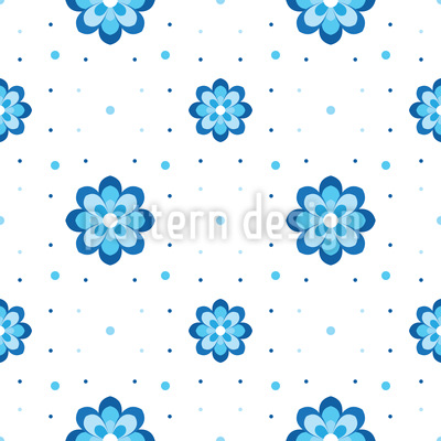 Cornflowers Pattern Design