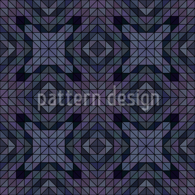 Geometric Dusk Repeat Pattern