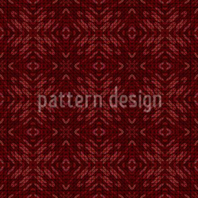 Earthy Mosaic Pattern Design