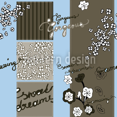 Gorgeous I Vector Pattern