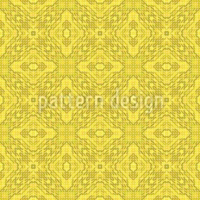 Zitronen Geometrie Designmuster