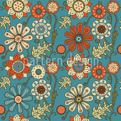 Die Garden Dreams Of Minsk Seamless Pattern