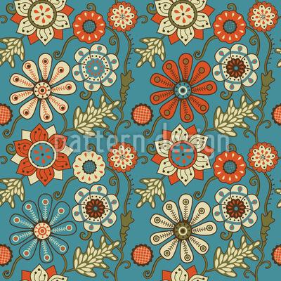 Die Gartenträume Von Minsk Nahtloses Muster