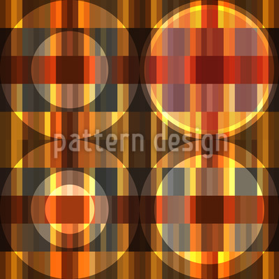 Circles On The Parquet Floor Repeating Pattern